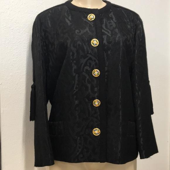 Yves Saint Laurent Jackets & Blazers - Yves Saint Laurent Jewel button jacket
